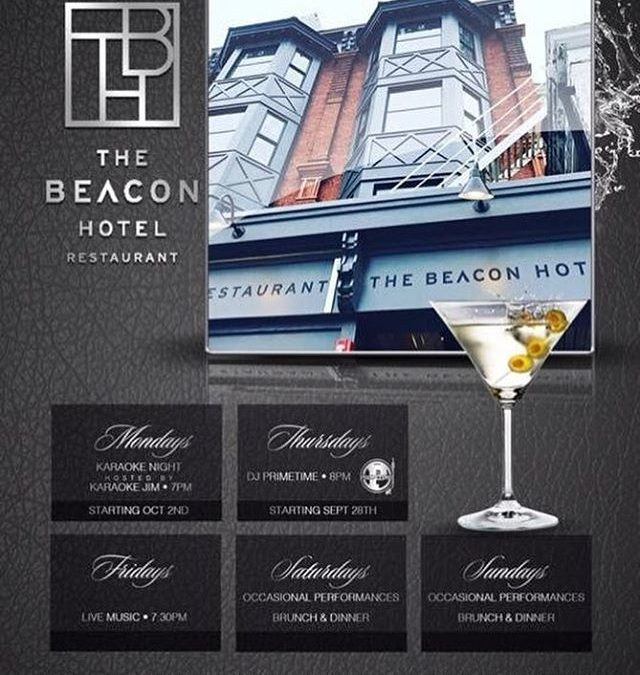 Come check out what we have going on at The Beacon Hotel ! www.beaconhotelhudsonvalley.com #weeklyevents #mondaykaraoke #happyhour #dj #thursdays #djprimetime #livemusic #fridays #livemusicfridays #brunch #saturday #sunday #bottomlessmimosas #dinner #drinks #entertainment #hotspots #beaconny #thebeaconhotel #escapebrooklyn