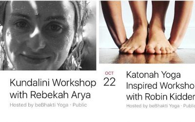 "We have *two* amazing workshops happening this weekend! Find new ways to connect to your body and it's amazing energies. On Saturday, Oct 21st 1:00-3:00pm we are happy to have Rebekah Arya teaching a workshop on Kundalini. ""In this course we will work with the essence of Kundalini energy. Using kriyas, mantra, pranayama and asana we will work on creating a practical, spiritual toolbox for daily use to help us maintain our center amidst the whirlwinds of our daily lives. Bring your laughter, an open mind, and expect to sing and dance a bit!"" $30 On Sunday our very own @wisskidd (Robin Kidder) will be leading a Katonah Yoga-Inspired Workshop from 12:30-3:30pm. ""Explore ideas such as using the body as measure, our capacity to mediate polarities in the mind, body, and breath to find center and balance (and joy). Learn to use techniques of pranayama and meditation to create strength and resilience, diving into the metaphor of the body as a house with three floors: depths, capacity, and vision."" $35 Register online at www.bebhaktiyoga.com #bebhakti #bebhaktiyoga #beacon #beaconny #hudsonvalley #dutchesscounty #yoga #yogaasana #yogaeveryday #ytt #yogateachertraining #kundalini #kundaliniyoga #katonah #katonahinspired #practice #meditation #pranayama #asana #kriya #practiceandalliscoming"