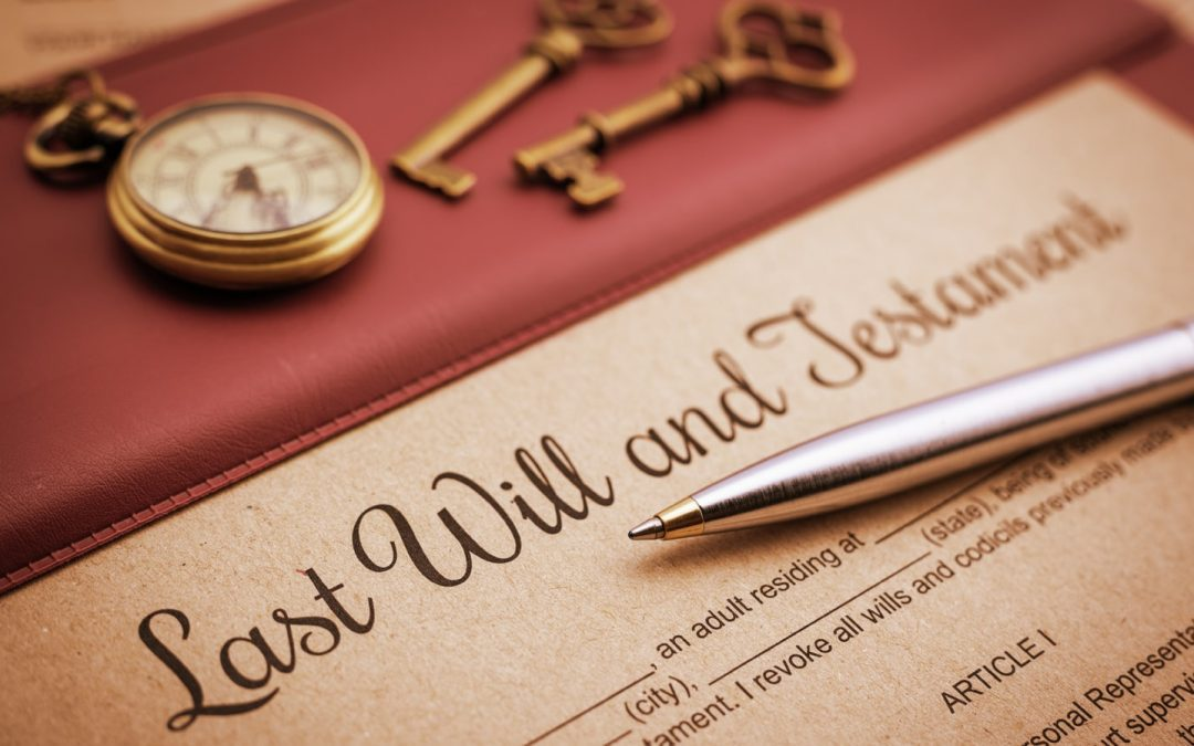 Top Five Reasons You Need A Will
